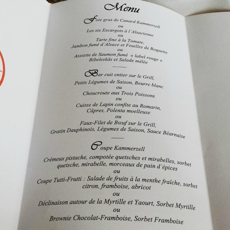 kam menu