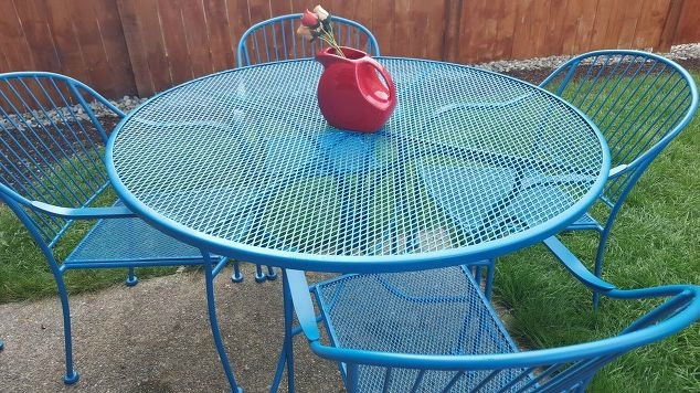 how-to-refinish-wrought-iron-patio-furniture-how-to-outdoor-furniture-painted-furniture