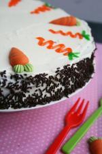 chocolate carrot cake moelleux à la carotte gâteau pâques 1