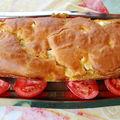 Cake au basilic et féta