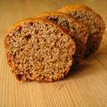 Du pain d'épice à l'orange parce que c'est de saison, et en plus c'est tellement bon.