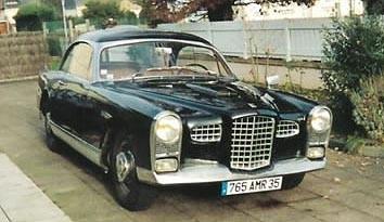 FACEL VEGA - N 007 Ex Président de la république René Coty - 1955