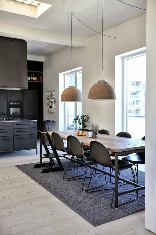 un loft industriel copenhague sonia saelens d co. Black Bedroom Furniture Sets. Home Design Ideas
