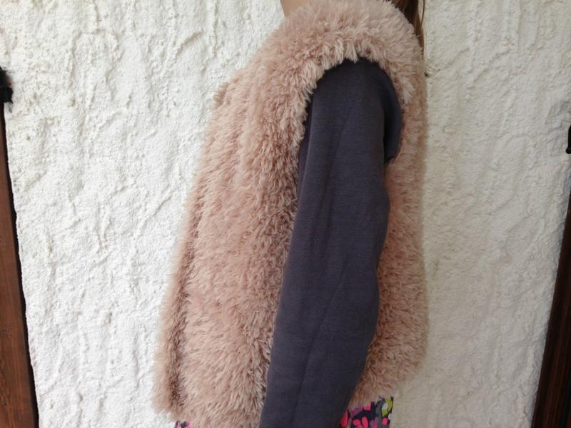 gilet de berger 6pel phil nounours biche point jersey modele phildar automne_hiver n587 12A_14A 5