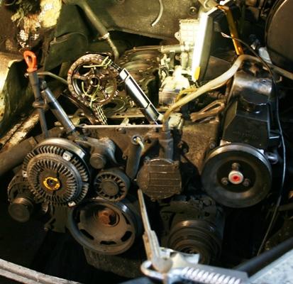 le bas moteur