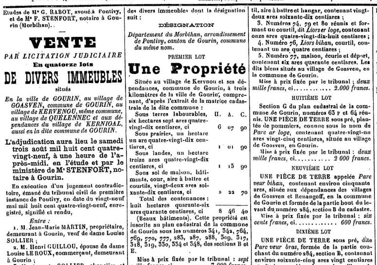 Presse Journal de Pontivy 1889_2
