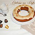 Gâteau au café {couleur, café, que j'aime ta couleur café}