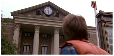 Hill valley horloge 1955
