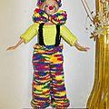 Barbie clown