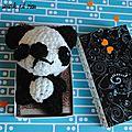 Défi sc and more n°270 : un ours! a la maison on les aime beaucoup mais notre préféré est le panda ....