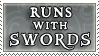 Runs_with_Swords_stamp_by_purgatori