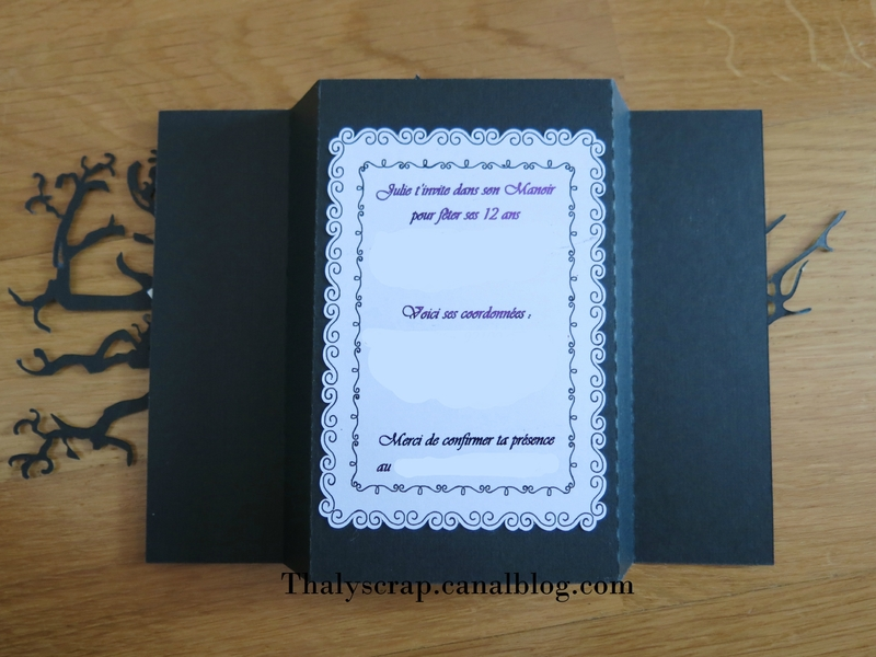 invitation Julie manoir - 14 b