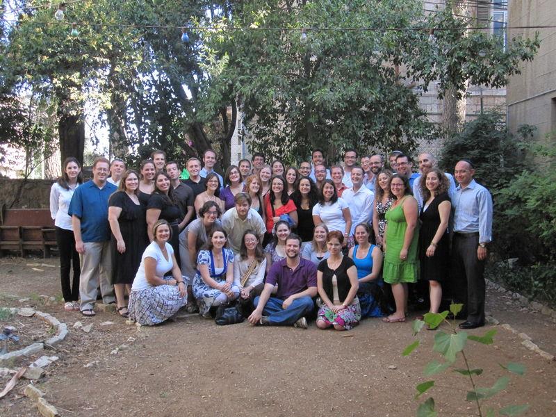 La promotion 2012/14 du Hebrew Union College