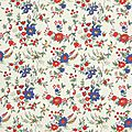 liberty floribunda blue red & white
