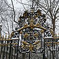 Grille d'entre du Parc Monceau