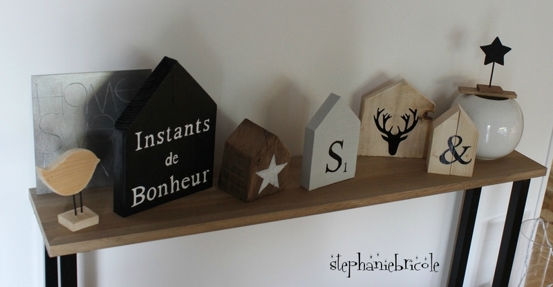 diy une horloge bois maison d co encore scandinave st phanie bricole. Black Bedroom Furniture Sets. Home Design Ideas