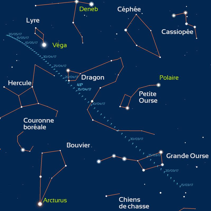 comete_41P_carte_trajectoire_stelvision