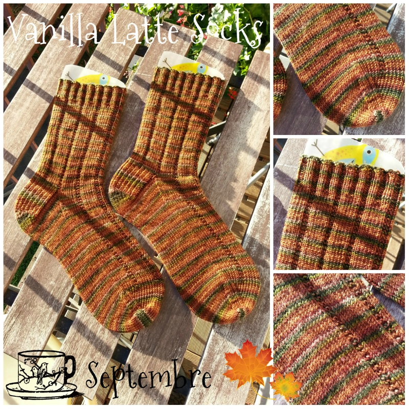 Vanilla Latte Socks