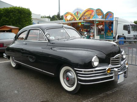 PACKARD Eight 2door coupé 1948 Illzach (1)