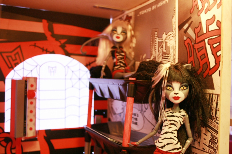 deux nouvelles chambres my diy maison monster high. Black Bedroom Furniture Sets. Home Design Ideas