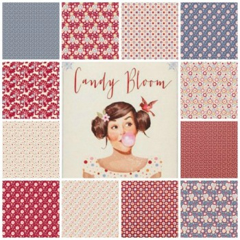 Tissu Tilda Candy Bloom