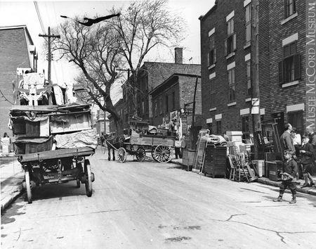 Métiers jour de déménagement 1930