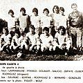 Cm floirac 1975/76 équipe cadets 2