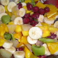 Ma p'tite salade de fruits !!