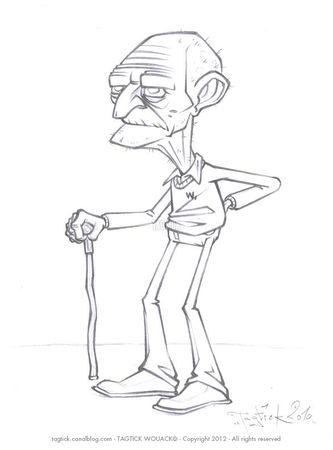 Sketch_Elderly
