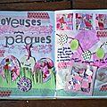 Joyeuses pâques - journal de printemps semaine 3