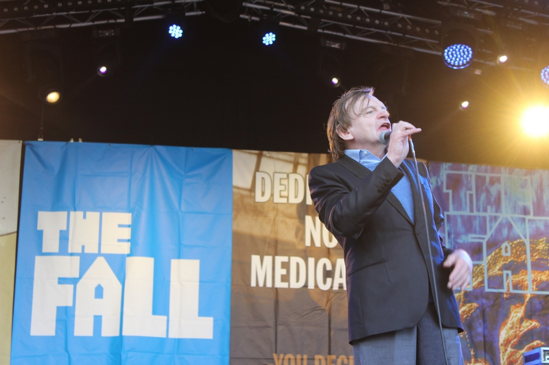 Glastonbury festival J+4 dimanche 28 juin 2015 the Fall the Park Mark E