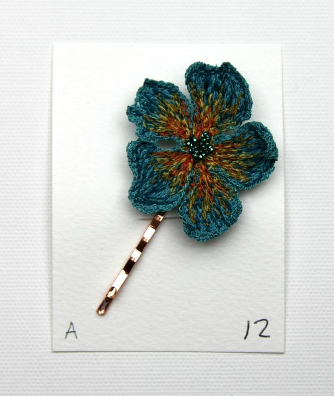fleur bleue a