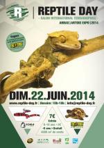 Affiche bourse reptile day