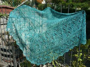 heart of estonia shawl