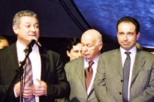 Richard Dell'Agnola avec Jean-Francois Copé