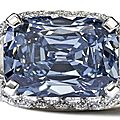 Bonhams takes world record of £6.2 million for exceptional blue diamond