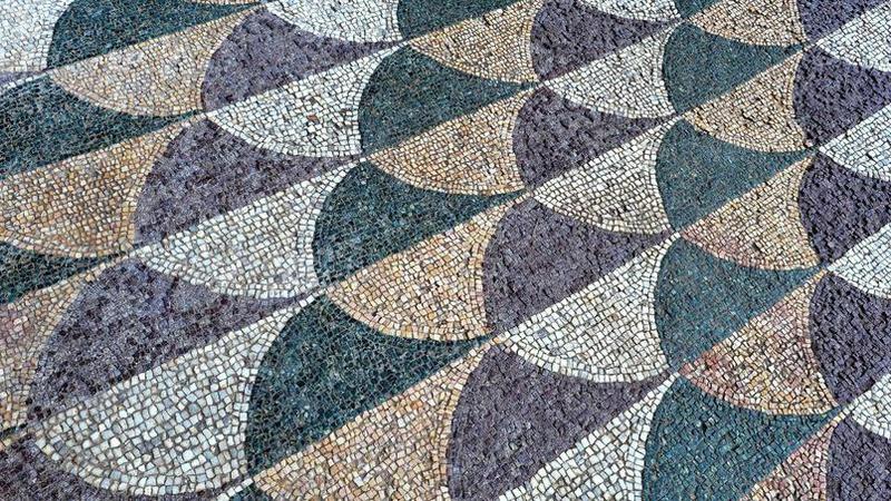 mosaiques Caracalla 1