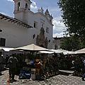 Marche au fleur Cuenca