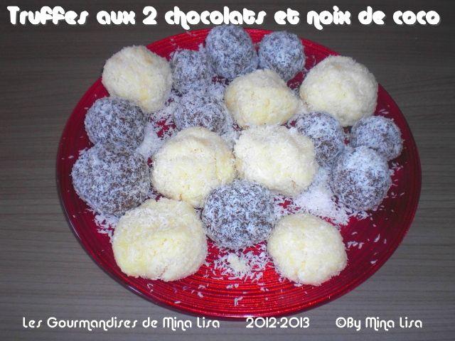 truffes aux 2 chocolats et noix de coco3