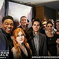 The maze runner : the scorch trials - avant premiere à new york + ap à londres