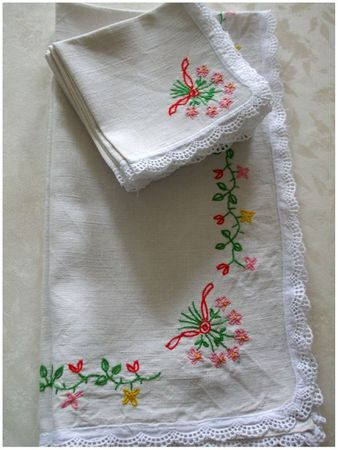 nappe fleuri