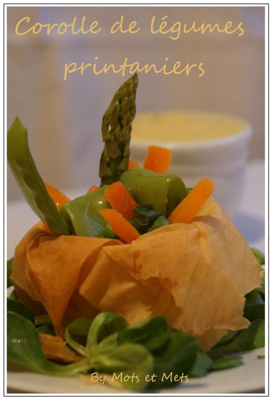 Corolle de légumes printaniers 1