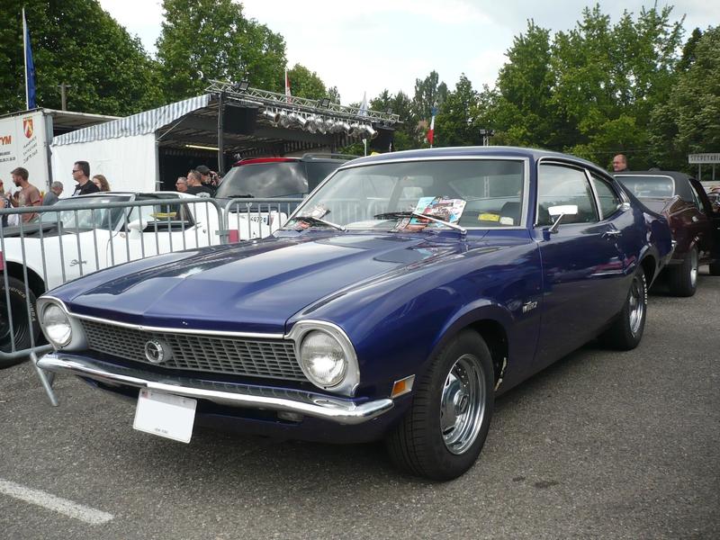 FORD Maverick 2door sedan fastback 1972 Illzach (1)