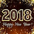 Happy new year 2018 my friends !