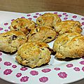 Scones anglais de rose bakery