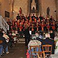 Concert à l'église de saint-gence : les chants fleuris et les choeurs de la glane