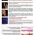 Concert-hommage avec claude nougaro (présence de frédéric pagès, gaëlle cotte, jann halexander)