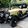 ROLLS ROYCE Phantom I Open Tourer 1928 Baden Baden (1)