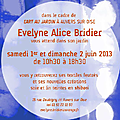 Evelyne alice bridier