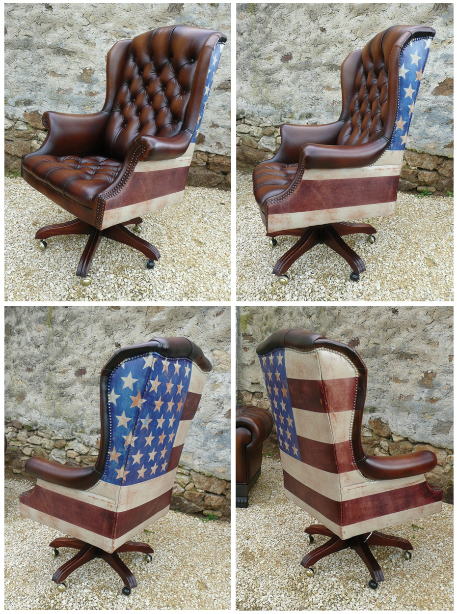berg res anglaises chesterfield union jack et fauteuil de. Black Bedroom Furniture Sets. Home Design Ideas